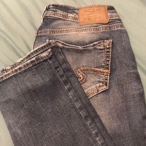 Silver jeans.  Brand new condition